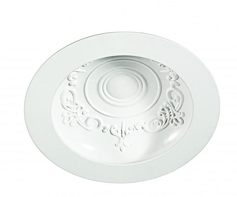 Фото Novotech 357490 NT18 000 белый Встраиваемый светильник IP20 75LED 15W 85-265V GESSO. Купить с доставкой