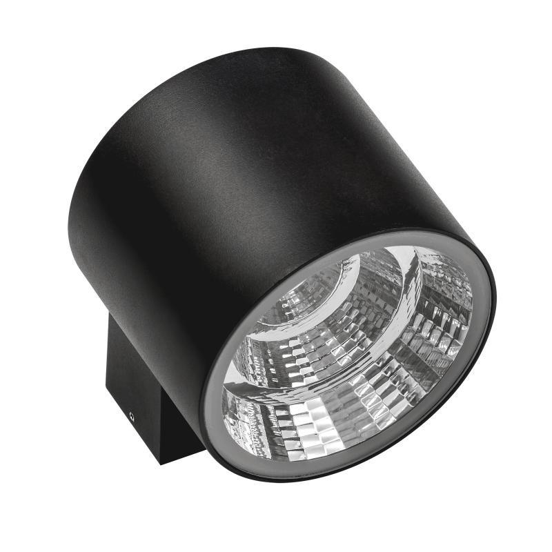 Lightstar 370572 СВЕТИЛЬНИК PARO LED 20W 1590LM 15G ЧЕРНЫЙ 3000K IP65 (В КОМПЛЕКТЕ) lightstar 372594 светильник paro led 2 2 15w 4700lm 15g серый 4000k ip65 в комплекте
