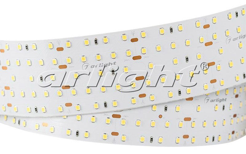 Arlight Лента 2,5 метра S2-2500 24V Warm 3000K 52mm (2835, 420 LED/m, LUX) pitatel ad 041 блок питания для ноутбуков acer asus benq dell emachines fujitsu gateway hp lg packard bell roverbook toshiba 19v 3 42a