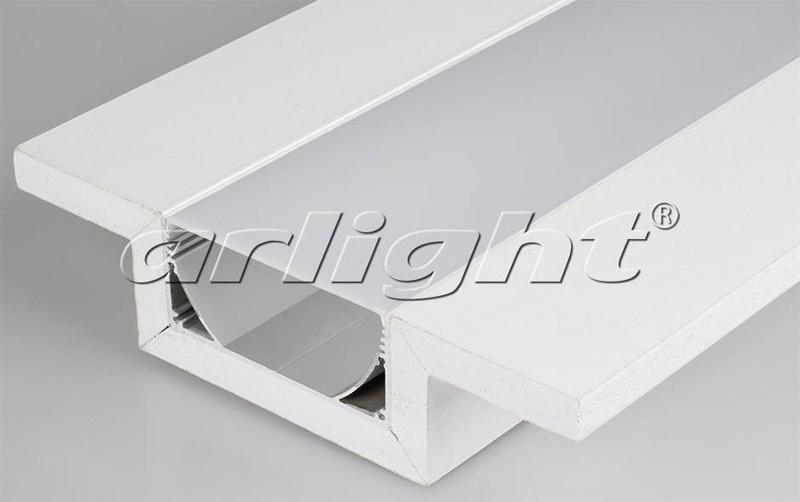 Фото Arlight Декоративный Профиль ARL-LINE-80-1000 (ГКЛ 12.5мм). Купить с доставкой