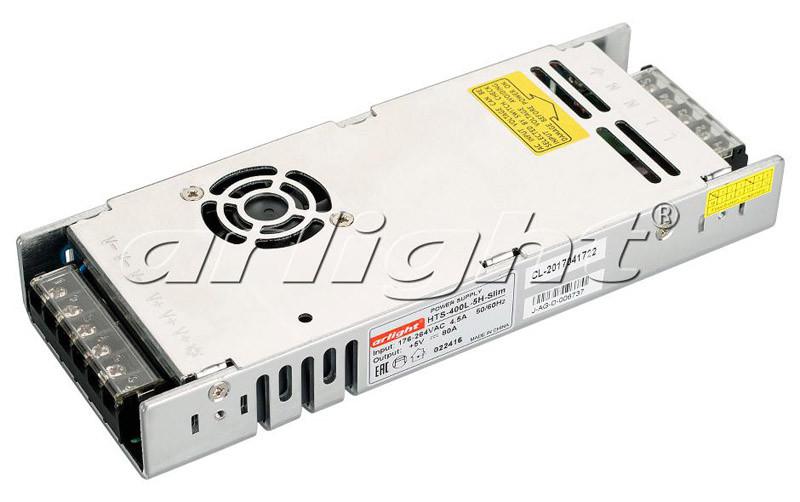 Arlight Блок питания HTS-400L-5H-Slim (5V, 80A, 400W)