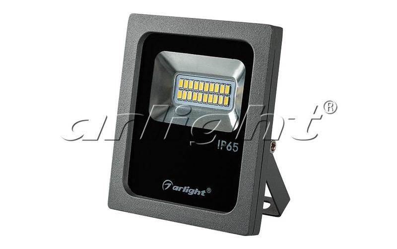 Arlight Светодиодный прожектор AR-FLG-FLAT-10W-220V Day прожектор 020596 arlight уличные прожектора