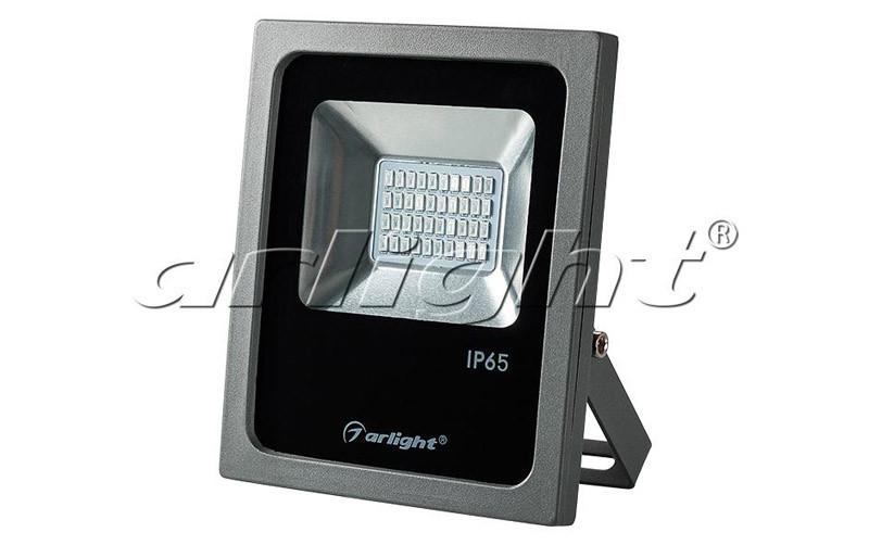 Arlight Светодиодный прожектор AR-FLG-FLAT-20W-220V Green прожектор 020596 arlight уличные прожектора