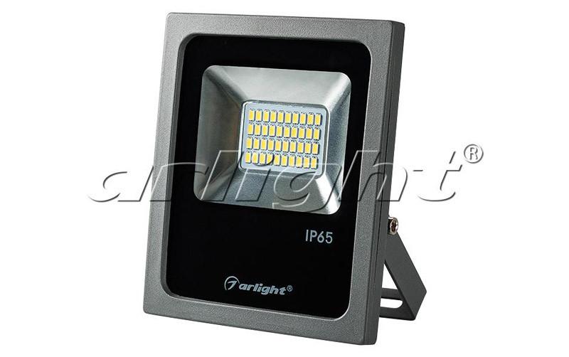 Arlight Светодиодный прожектор AR-FLG-FLAT-20W-220V White прожектор 020596 arlight уличные прожектора