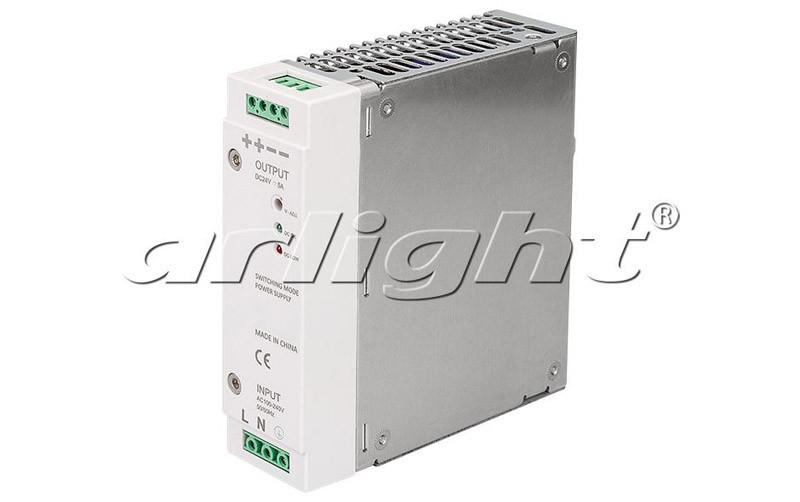 Arlight Блок питания ARV-DRP120-24 (24V, 5A, 120W) блок питания 4parts lac hp03 hp 18 5v 6 5a 7 4x5 0mm 120w