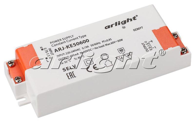 Arlight Блок питания ARJ-KE50600 (30W, 600mA, PFC) термокружка igloo isabel 0 591л matte black 170382