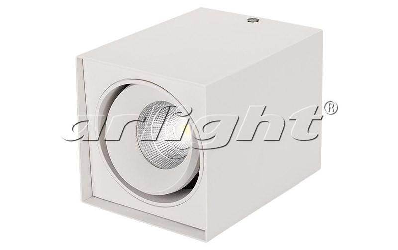 Arlight Светильник SP-CUBUS-S100x100WH-11W White 40deg globo cubus 5692 1h
