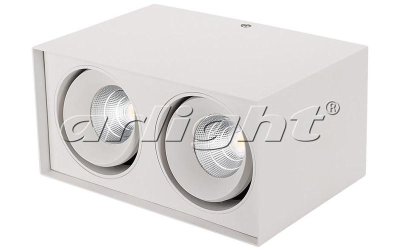 Arlight Светильник SP-CUBUS-S100x200WH-2x11W Day White 40deg globo cubus 5692 1h