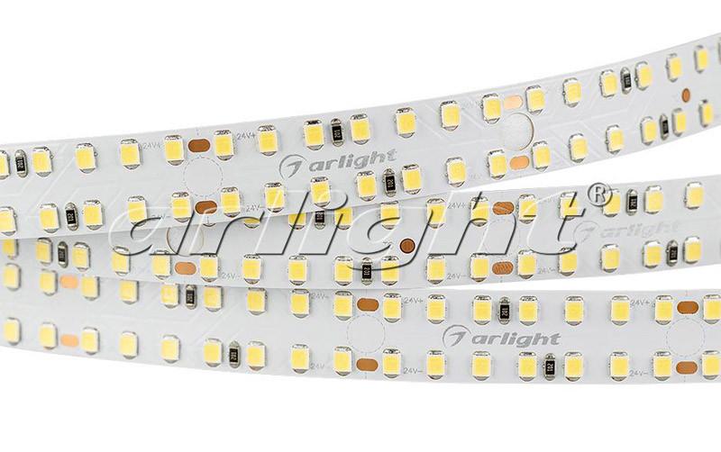 Arlight Лента S2-2500 24V White 6000K 15mm (2835, 280 LED/m, LUX) лента arlight 021412