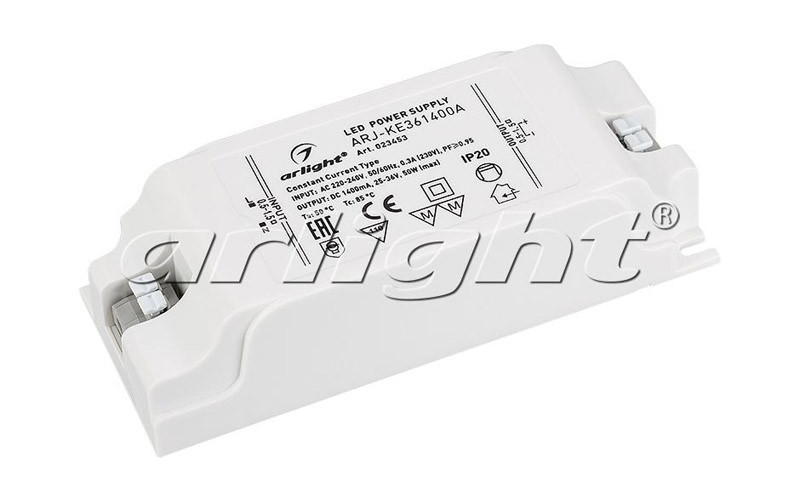 Arlight Блок питания ARJ-KE361400A (50W, 1400mA, PFC) фрезер aeg mf 1400 ke 411850