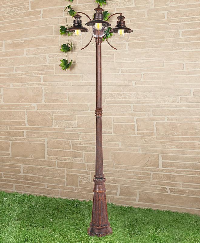 Elektrostandard Talli F/3 брауни elektrostandard светильник на столбе elektrostandard taurus f 3 малахит арт glxt 1458f 3 4690389065057