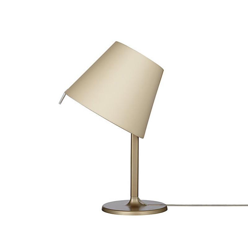 Artemide 0315020A MELAMPO TAVOLO BRONZO artemide настольная лампа melampo notte aluminum grey