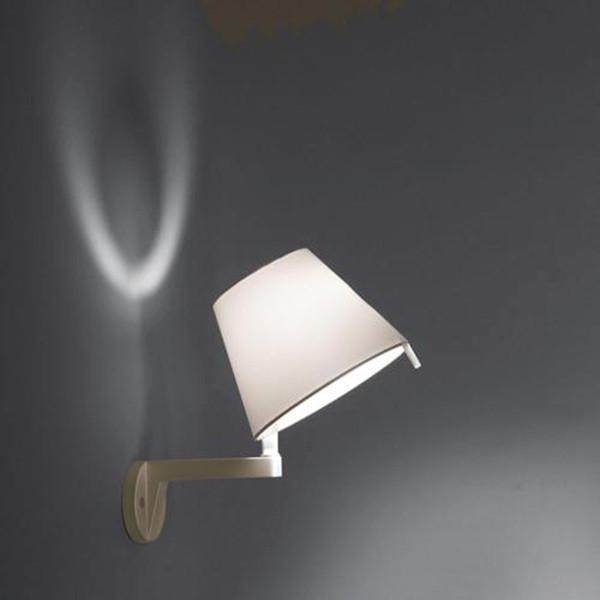 Artemide 0721020A MELAMPO PARETE CON INTERR.BRONZO artemide настольная лампа melampo notte aluminum grey