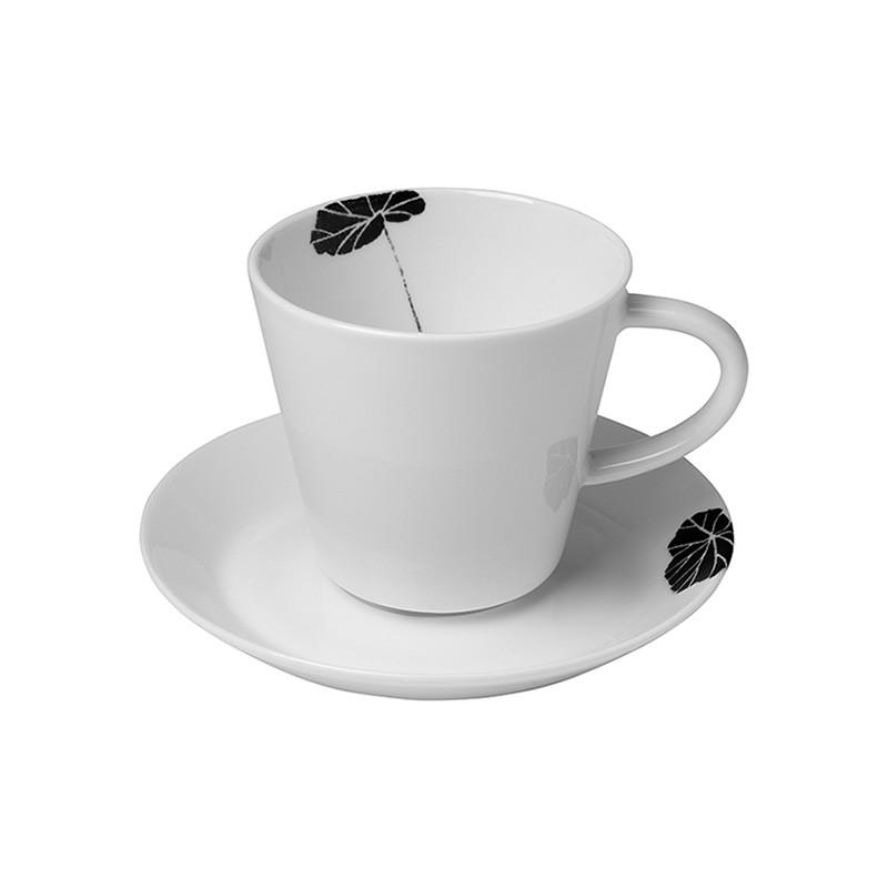 Urbanika кофейная пара B&W LEAF кофейная пара era