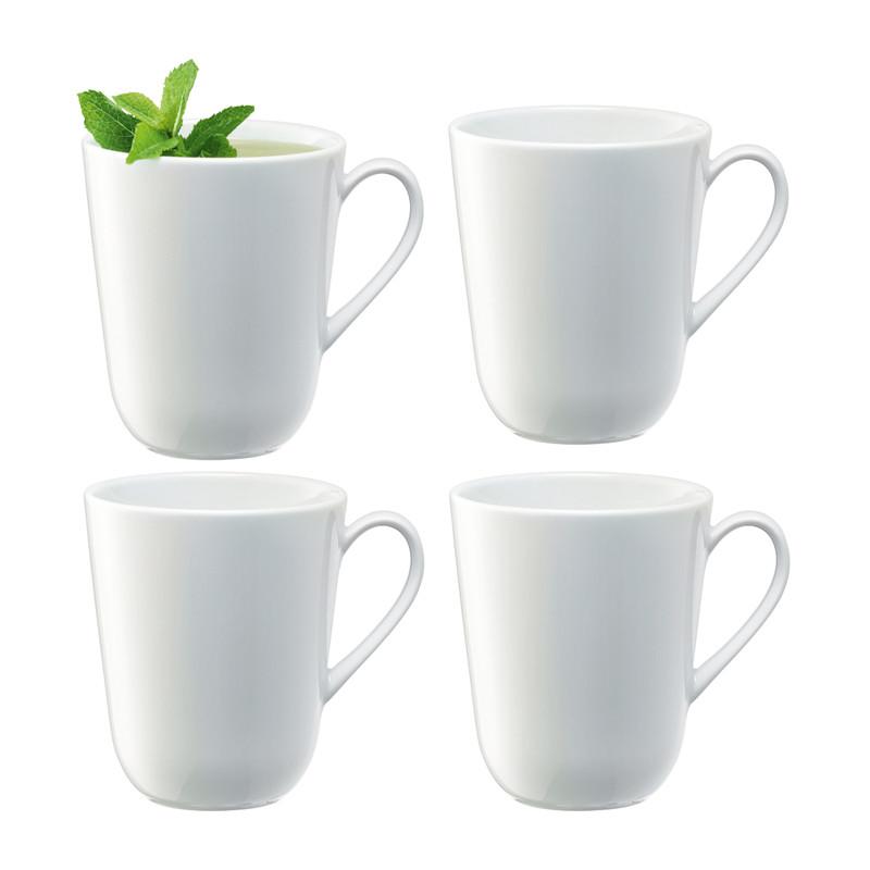 Urbanika чашка DINE, сет 4 шт, подарочная упаковка urbanika кашпо smiley сет 3 шт