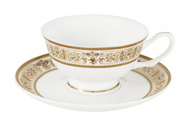Anna Lafarg Emily Набор 12 предметов Шарлотта : 6 чашек + 6 блюдец anna lafarg emily набор чашек сан марино 6шт