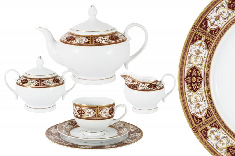 Bavaria Чайный сервиз 23 предмета на 6 персон Линдау сервиз 22 предмета 6 персон bekker сервиз 22 предмета 6 персон