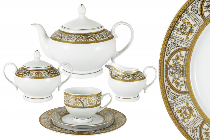 Bavaria Чайный сервиз 23 предмета на 6 персон Кёльн сервиз 22 предмета 6 персон bekker сервиз 22 предмета 6 персон
