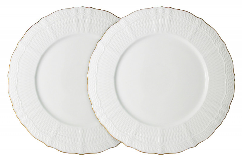 Colombo Набор из 2-х обеденных тарелок Бьянка салфетница бьянка