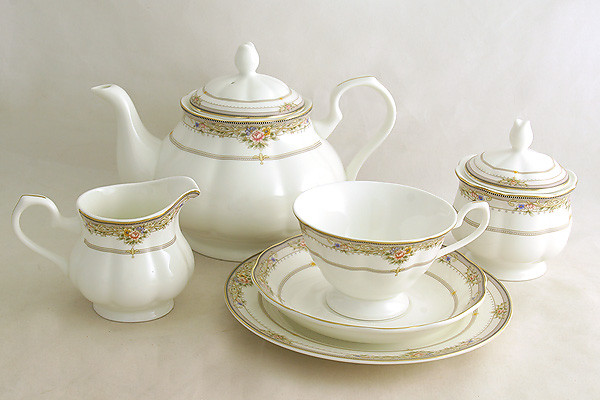 Emerald Чайный сервиз Лэнсбери 21 предмет на 6 персон сервиз набор emerald чайный сервиз эстель 21 предмет на 6 персон e5 14 601 21 al