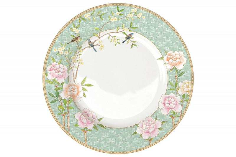 Easy Life (R2S) Тарелка обеденная Дворцовый парк (салатовая) без инд.упаковки life s little ironies