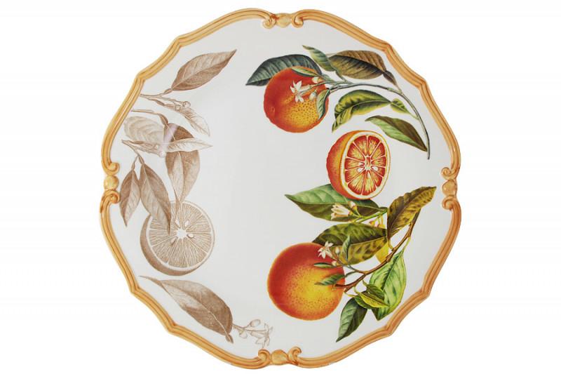 LCS Блюдо круглое Апельсины