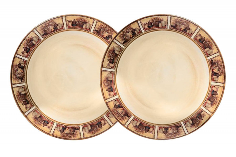 LCS Набор из 2-х десертных тарелок Натюрморт набор тарелок натюрморт 2 шт
