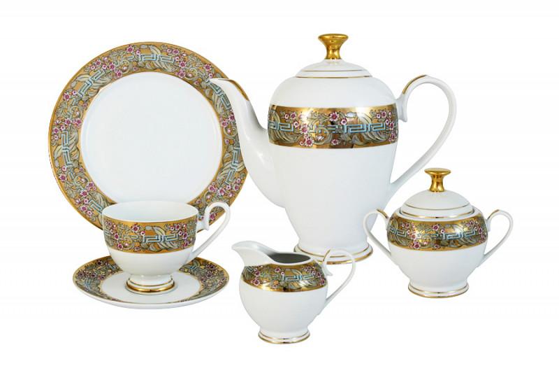 Midori Чайный сервиз Розовый берег 23 предмета на 6 персон сервиз 22 предмета 6 персон bekker сервиз 22 предмета 6 персон