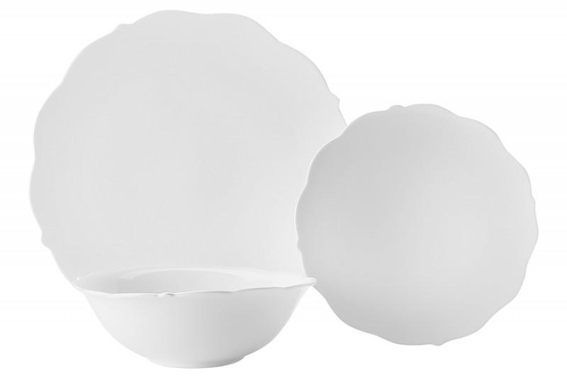 Maxwell & Williams Набор столовый 12 предметов на 4 персоны Белая роза в подарочной упаковке кастрюля эм белая роза 5 1л стек крыш 1238602