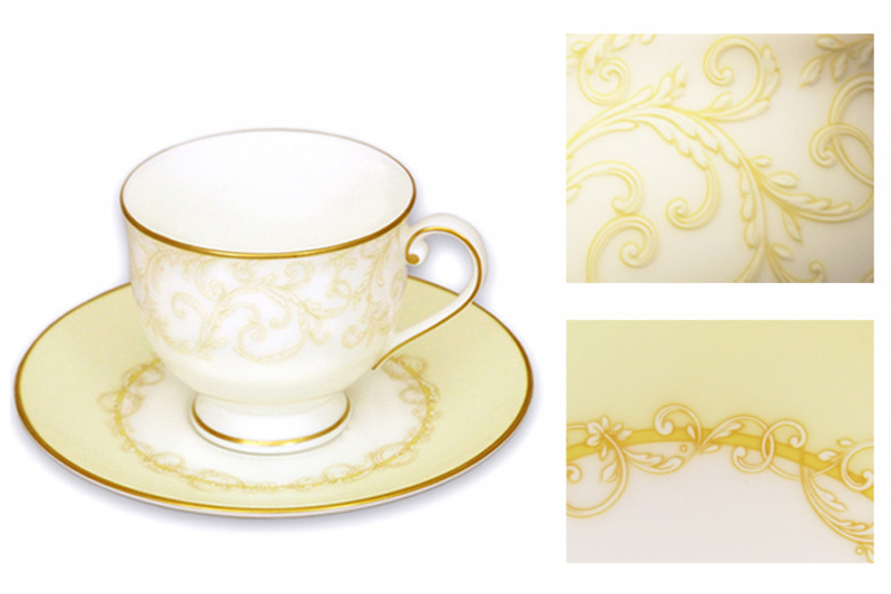 Narumi Чашка с блюдцем Версаль