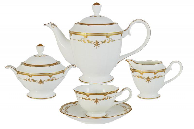 Narumi Чайный сервиз из 17 предметов на 6 персон Ожидание narumi чайный сервиз из 15 предметов на 6 персон белый город