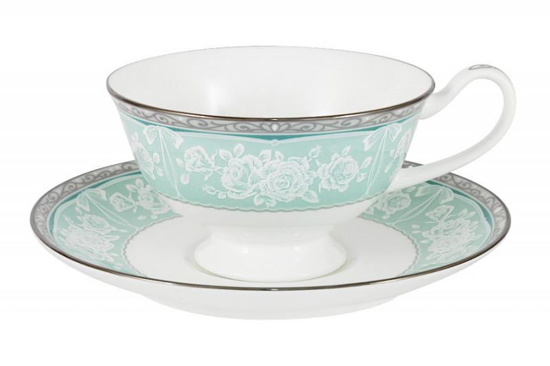 Narumi Чашка с блюдцем Прикосновение