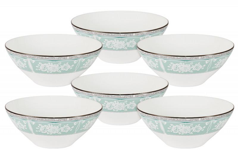 Narumi Набор из 6 салатников Прикосновение narumi набор салатников бриз 2шт