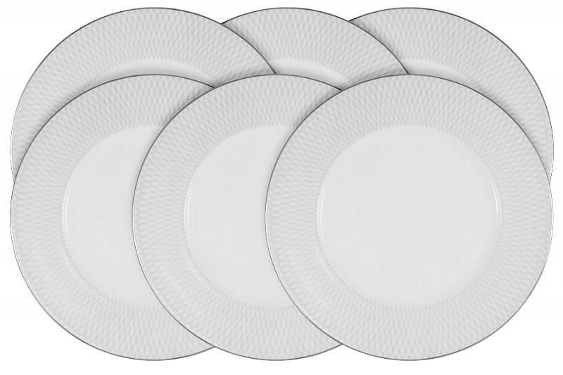 Narumi Набор из 6 обеденных тарелок Бриз narumi