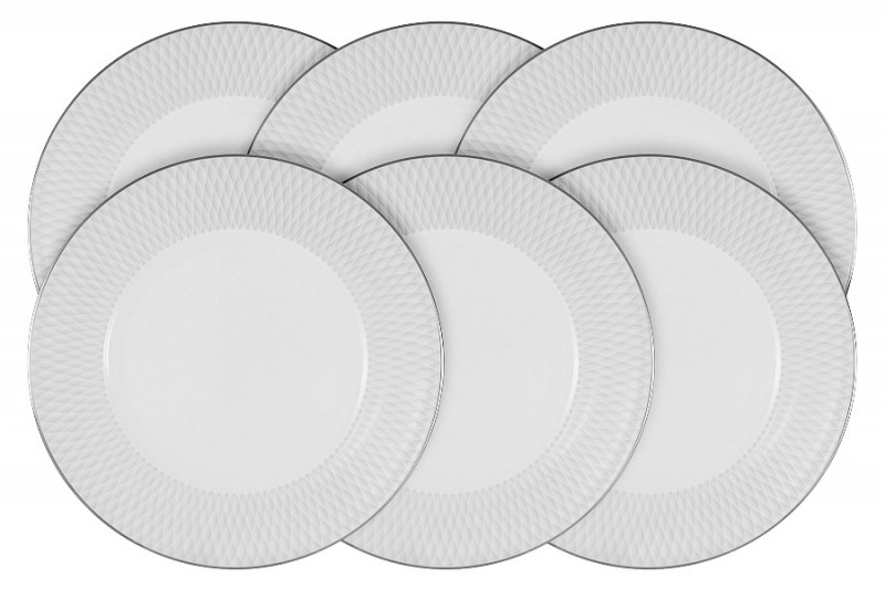 Narumi Набор из 6 десертных тарелок Бриз narumi