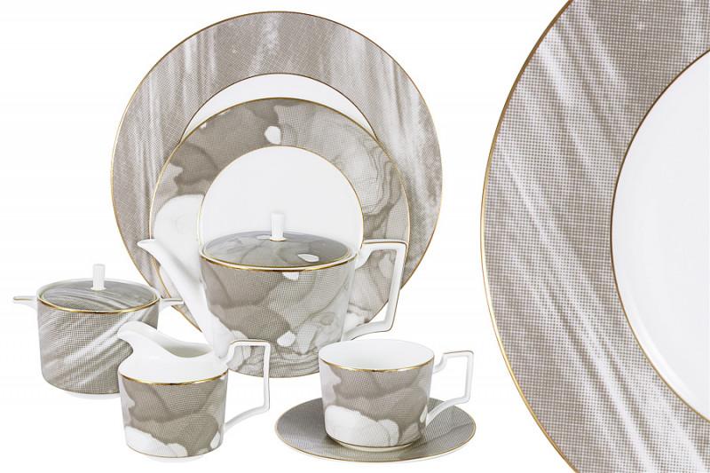 Naomi Чайный сервиз Лунная соната 40 предм.на 12 персон чайный набор naomi маренго