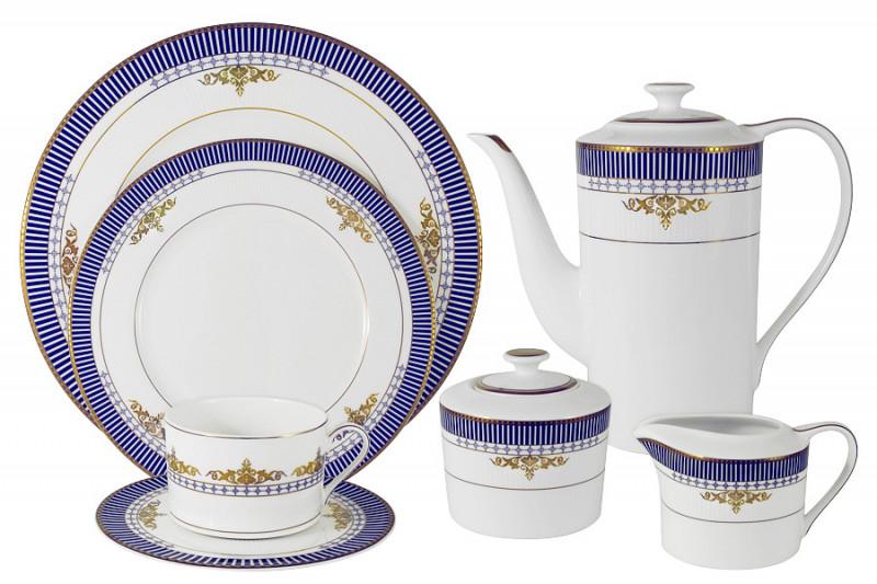 Naomi Чайный сервиз Флагман 40 предметов на 12 персон чайный набор naomi маренго