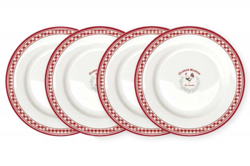Easy Life (R2S) Набор из 4-х десертных тарелок Французская кухня life s little ironies