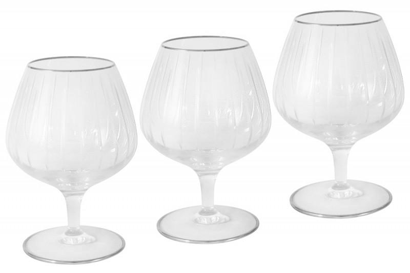 Same 6 бокалов для коньяка Пиза серебро набор бокалов для коньяка same decorazione пиза 6 предметов золото