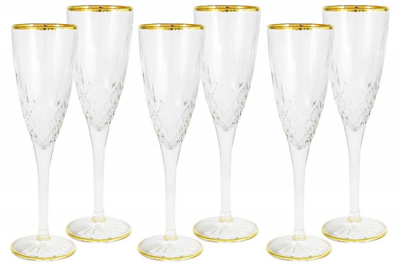 Same Набор: 6 бокалов для шампанского Уэльс same набор 6 бокалов для шампанского уэльс