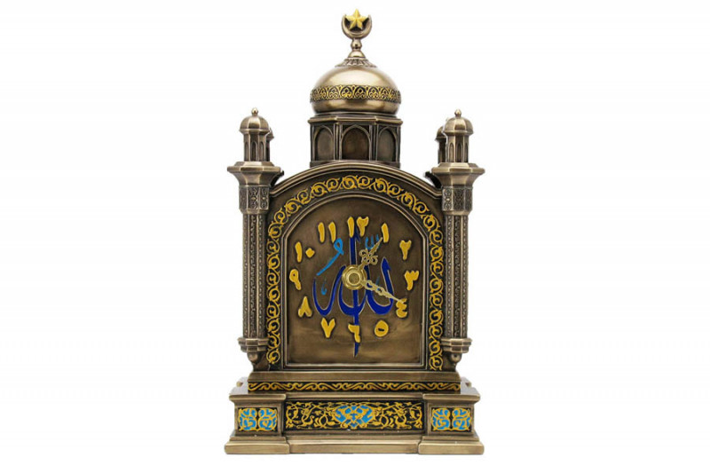 Фото Veronese Часы каминные Арабеска. Купить с доставкой
