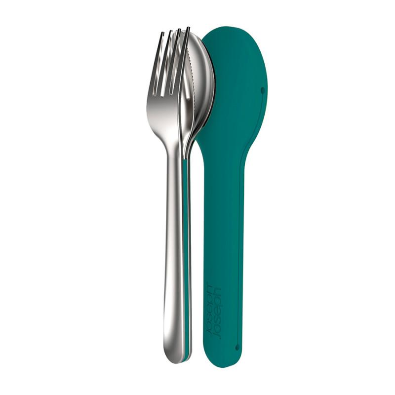 Joseph Joseph Набор столовых приборов goeat™ cutlery set изумрудный