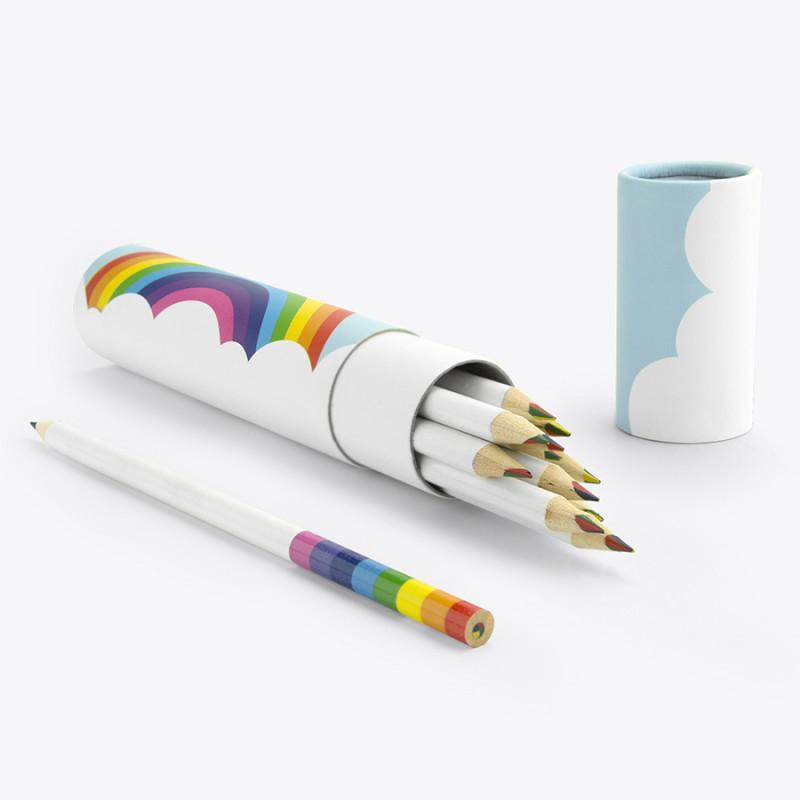Mustard Карандаши цветные rainbow pencils (12 шт) mustard