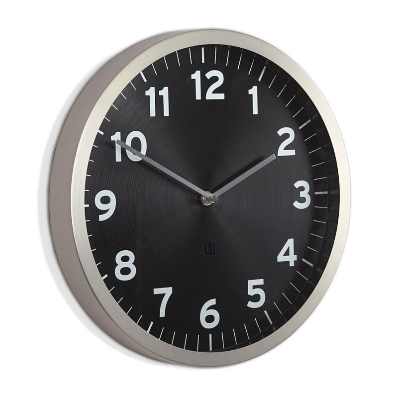Umbra Настенные часы anytime чёрные крючки настенные umbra filp hook