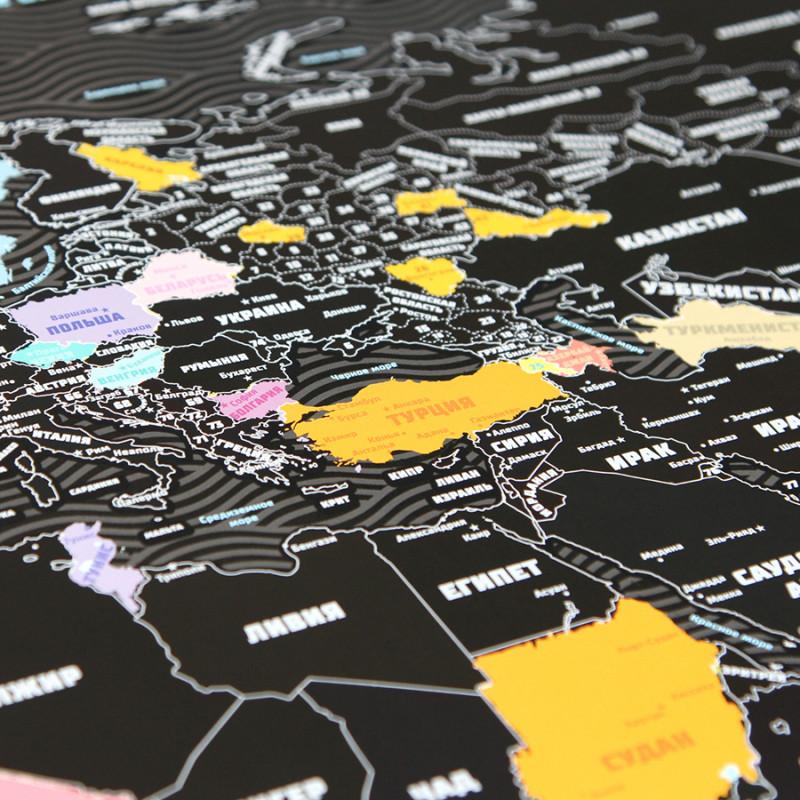 BadLab Карта true map plus black