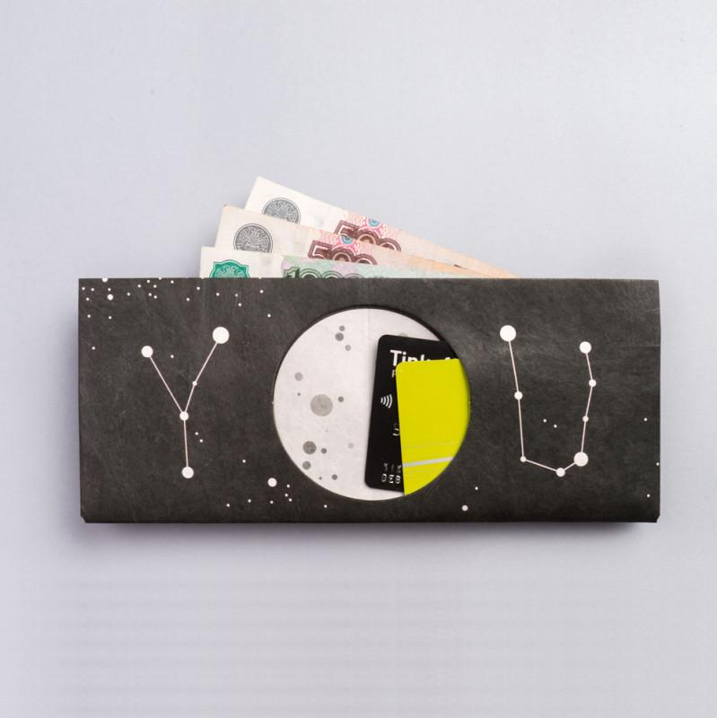 New wallet Бумажник space