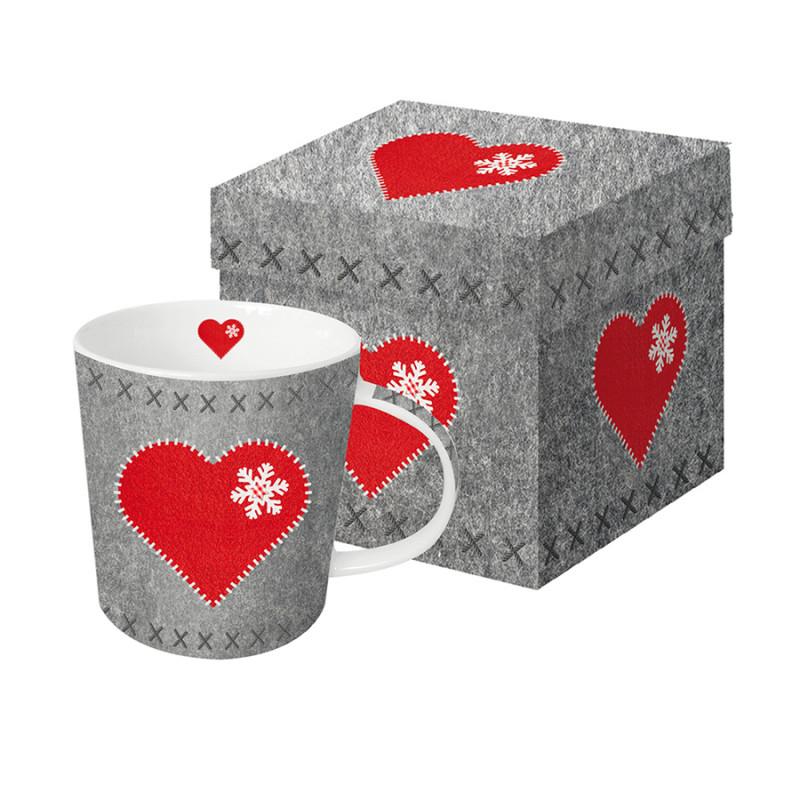 Paperproducts Design Кружка в подарочной упаковке felt heart 350 мл кружка радуга 305мл фарфор