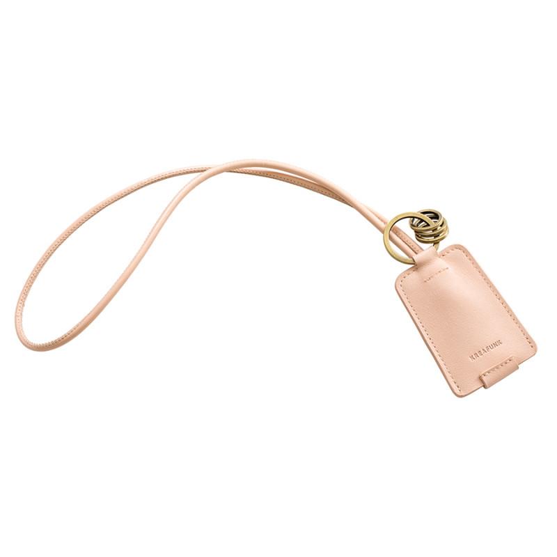 KREAFUNK Брелок с usb cchain бежевый брелок гроздь цвет светло розовый вас 3125