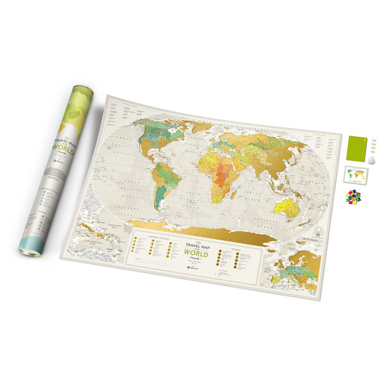 1DEA.me Карта travel map geograghy world