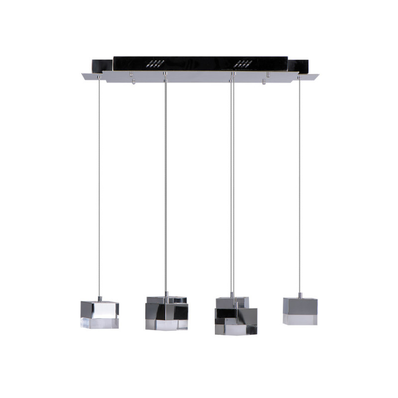 Benetti Светодиодный светильник BENETTI LED Geometria хром, 25Вт 3000K, 1600 Lm, коллекция LED-005 benetti сапоги резиновые benetti mh 003